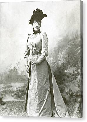 Rejane (1857-1920), Nee Gabrielle Reju Canvas Print by Granger