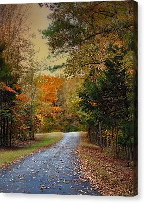 Rekindled Spirit - Autumn Landscape Scene Canvas Print by Jai Johnson
