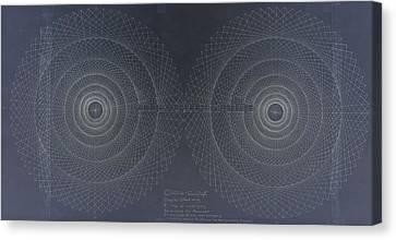 Relativity Canvas Print by Jason Padgett