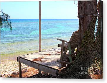 Relax Porch Canvas Print by Carey Chen
