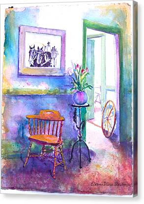 Remberence  Canvas Print by Eleanor  Dixon Stecker