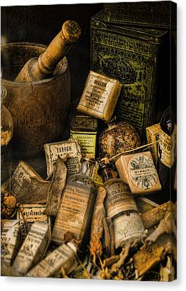 Remedies Canvas Print by Heather Applegate