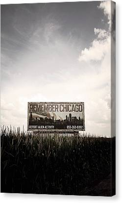 Remember Chicago  Canvas Print by Trish Mistric