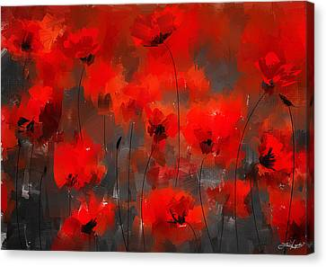 Remembrance Canvas Print by Lourry Legarde