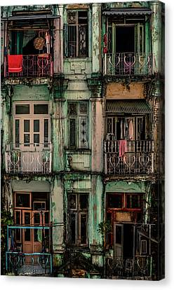 Remnants Of Another Era Canvas Print by Marcus Blok
