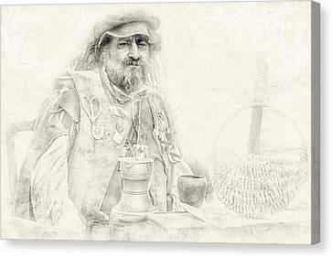Renaissance Man Canvas Print by Camille Lopez