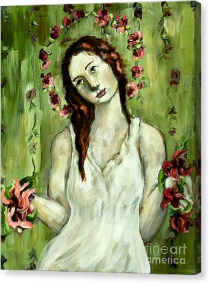 Renewal Canvas Print by Carrie Joy Byrnes