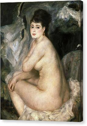 Renoirpierre-auguste 1841-1919. Nudeor Canvas Print by Everett
