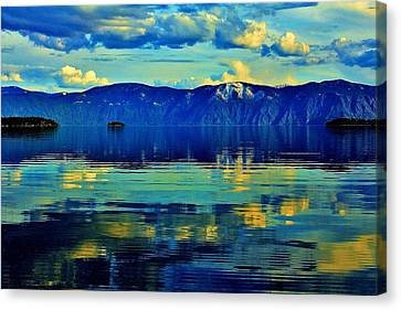 Repose Canvas Print by Benjamin Yeager