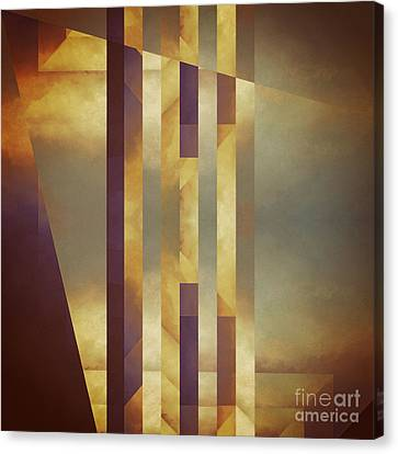 Repressed Altarpiece Canvas Print by Lonnie Christopher