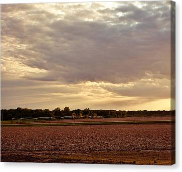 Republican River Valley Canvas Print by Tracy Salava