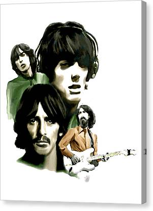 Requiem II George Harrison Canvas Print by Iconic Images Art Gallery David Pucciarelli