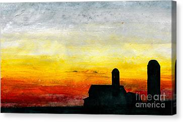 Rest For The Hard Working Canvas Print by R Kyllo
