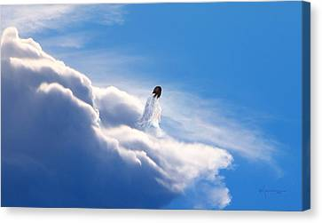 Resting Angel 2 Canvas Print by Kume Bryant