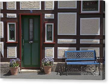 Resting Place Canvas Print by Heiko Koehrer-Wagner