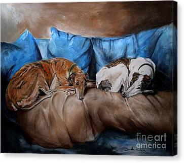 Resting Time Canvas Print by Dorota Kudyba