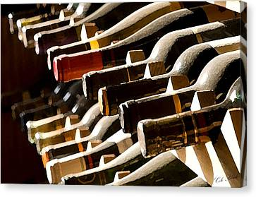 Resting Wine Canvas Print by Cole Black