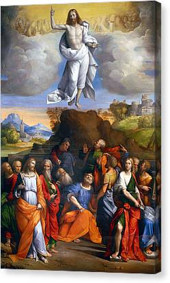 Resurrection  Canvas Print by Munir Alawi