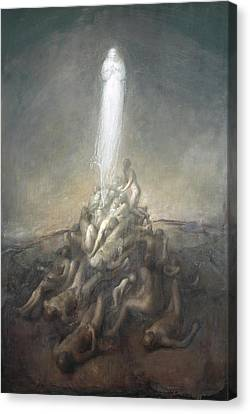 Resurrection Canvas Print by Odd Nerdrum