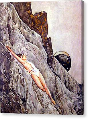 Resurrection Canvas Print by Sharon Mills