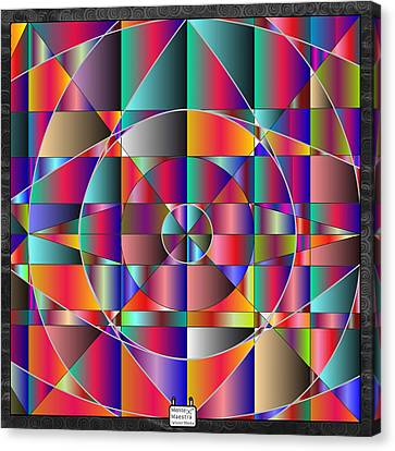 Reticulae Canvas Print by Eloy Tamez olguin