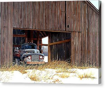 Retired Canvas Print by Michael Swanson