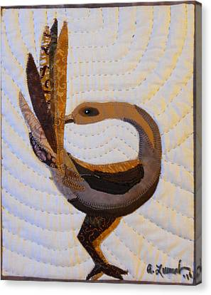 Return Canvas Print by Aisha Lumumba