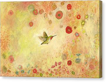 Returning To Fairyland Canvas Print by Jennifer Lommers
