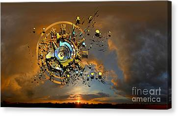 Revelation Canvas Print by Franziskus Pfleghart