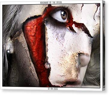 Revenant Of The Opera Canvas Print by Robert  Adelman