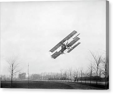 Rex Smith Airplane Flight Canvas Print by Library Of Congress