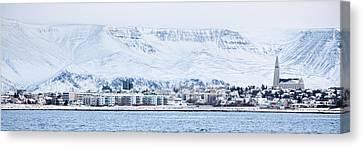 Reykjavik City - Iceland Canvas Print by Arnar B Gudjonsson
