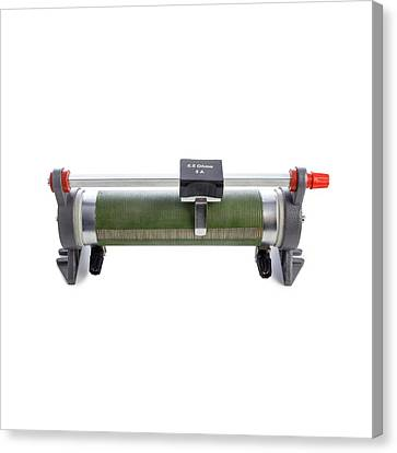 Rheostat Canvas Print by Science Photo Library