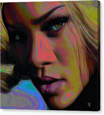 Ri Ri Canvas Print by  Fli Art