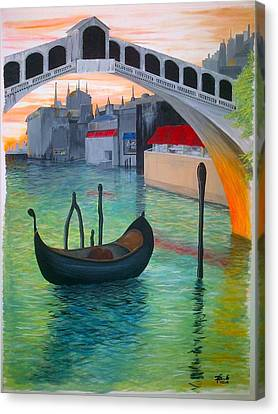 Rialto Canvas Print by Andrew Cravello