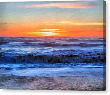 Rialto Beach Sunset #1 Canvas Print by Paddrick Mackin