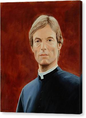 Richard Chamberlain Canvas Print by Lepercq Veronique