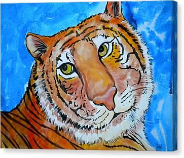 Richard Parker Canvas Print by Debi Starr