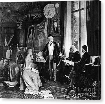 Richard Wagner Canvas Print by Granger