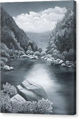 Richland Creek Canvas Print by Garry McMichael