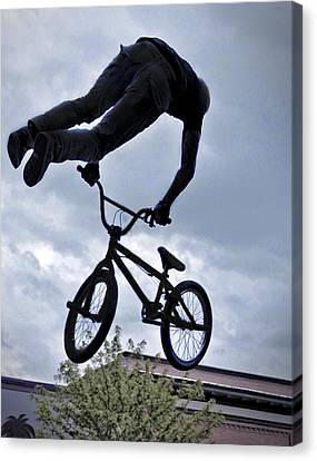 Riding High Canvas Print by David Kehrli