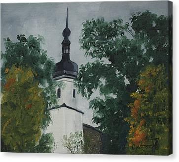 Riesa Germany Canvas Print by Robert Jenson