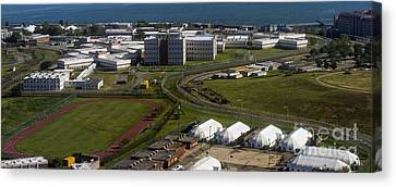 Rikers Island Jail In New York City Canvas Print by David Oppenheimer