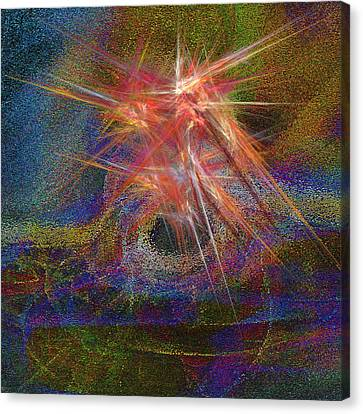 Ring Of Fire Canvas Print by Michael Durst
