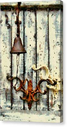 Ring The Bell Canvas Print by Janine Riley