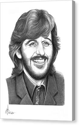 Ringo Canvas Print by Murphy Elliott