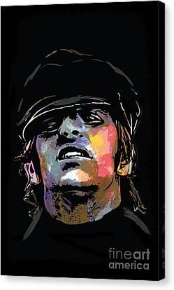 Ringo Starr Canvas Print by Andrzej Szczerski