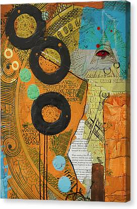 Rings Canvas Print by Corporate Art Task Force