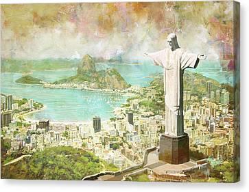 Rio De Janeiro Canvas Print by Catf