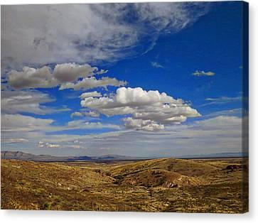 Rio Grande Valley Afternoon Canvas Print by Feva  Fotos